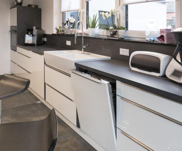 Wasch und Reinigungsbereich kompakt vereint